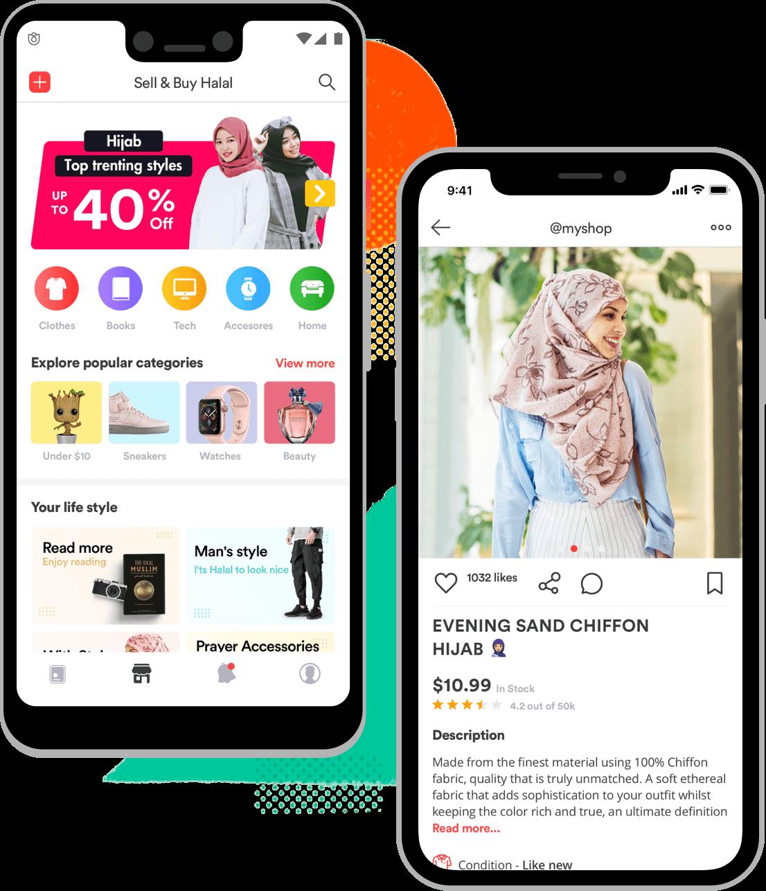 Buy and sell halal